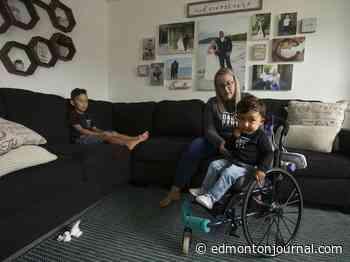 'I'm not hopeful:' Edmonton family wants AHS to cover $2.8 million drug to treat toddler's rare motor disease