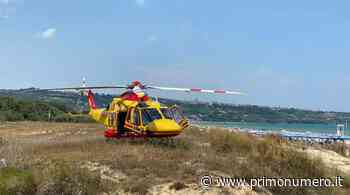 Malore in spiaggia a Vasto, 84enne di Campobasso soccorso in elicottero - Primonumero