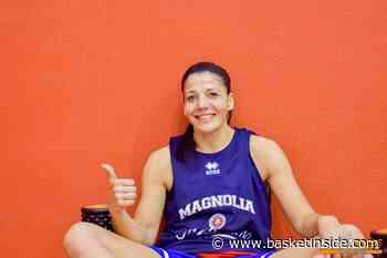 A1 UFFICIALE – Carolina Sanchez rinnova con la Magnolia Campobasso - Basketinside