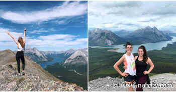Alberta's Epic Tent Ridge Hike Takes You To 3 Mountain Peaks & A Bright Blue Lake - Narcity Canada
