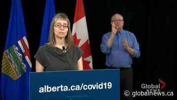 Alberta identifies 64 new COVID-19 cases, one new death on Thursday | Watch News Videos Online - Globalnews.ca