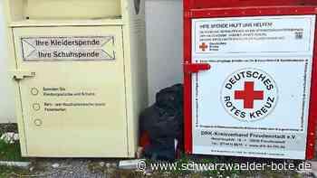 Kreis Freudenstadt: DRK-Container quellen über - Freudenstadt - Schwarzwälder Bote