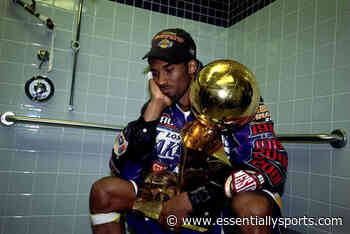 The Heart-Breaking Reason Behind The Iconic Kobe Bryant Photo After The 2001 NBA Finals - Essentially Sports