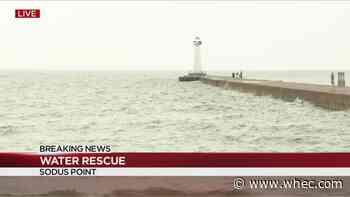 Good Samaritans assist in water rescue in Sodus Point, 2 hospitalized