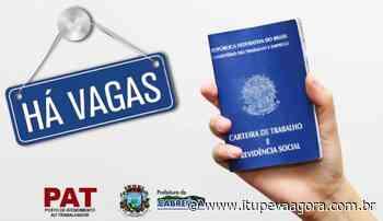 PAT Cabreuva tem oportunidades de empregos abertas (30/06/2020) - Itupeva Agora