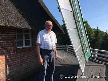 Er ist einer der letzten Mühlenbauer Ostfrieslands - Emder Zeitung