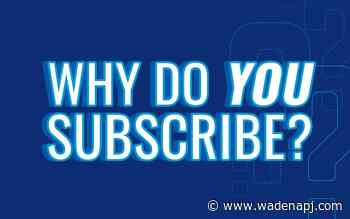 Tell us how we can provide more value for your subscription - Wadena Pioneer Journal