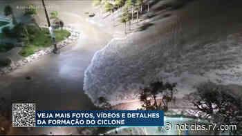 Ciclone provoca ondas fortes e afunda nove embarcações no litoral paulista - HORA 7