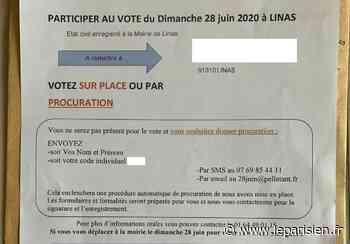 Procurations : le courrier polémique de l'ex-maire inéligible de Linas - Le Parisien