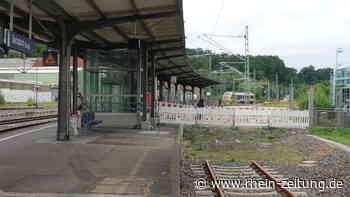 """Das """"legendäre"""" Gleis 107 in Betzdorf: Signal wird etwas grüner - Rhein-Zeitung"""