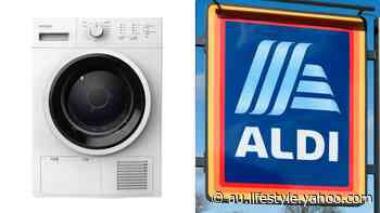 Aldi sparks frenzy with 'identical' $599 dupe of $900 dryer - Yahoo Lifestyle Australia