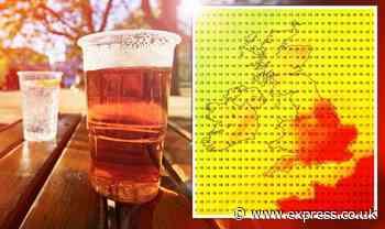 UK heatwave: UK to see SIZZLING 29C heat as hot weather sweeps Europe - latest maps - Express.co.uk