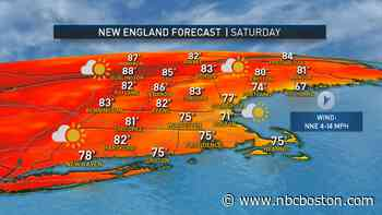 Holiday Weekend Weather Looks Cooler, Less Humid - NBC10 Boston