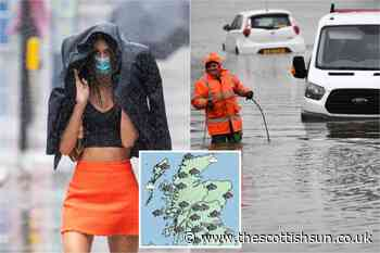 Scotland weather forecast: Flood warnings issued for Glasgow and large parts of country as 60mm to lash Scots - The Scottish Sun