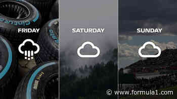 What's the weather forecast for the Austrian Grand Prix? - Formula 1 RSS UK