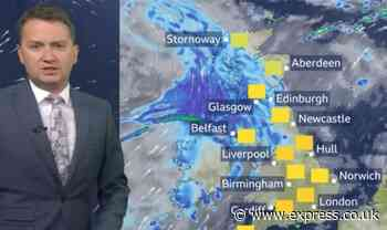 BBC Weather: One UK region set to AVOID weekend washout with 24C temperatures - Express.co.uk