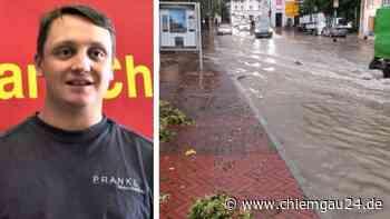 Prien-am-Chiemsee: Feuerwehrkommandant Witt zu Einsätzen Unwetter Sturm am letzten Sonntag im Juni - chiemgau24.de
