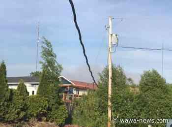 Wawa 4 burns close to Dubreuilville - Wawa-news.com