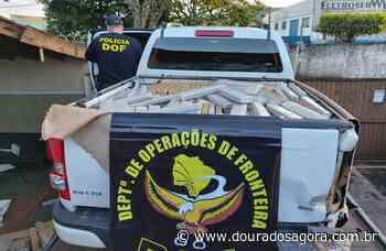Caminhonete rouba é recuperada e policiais descobrem carga de maconha - Dourados Agora - Notícias de Dourados e Região