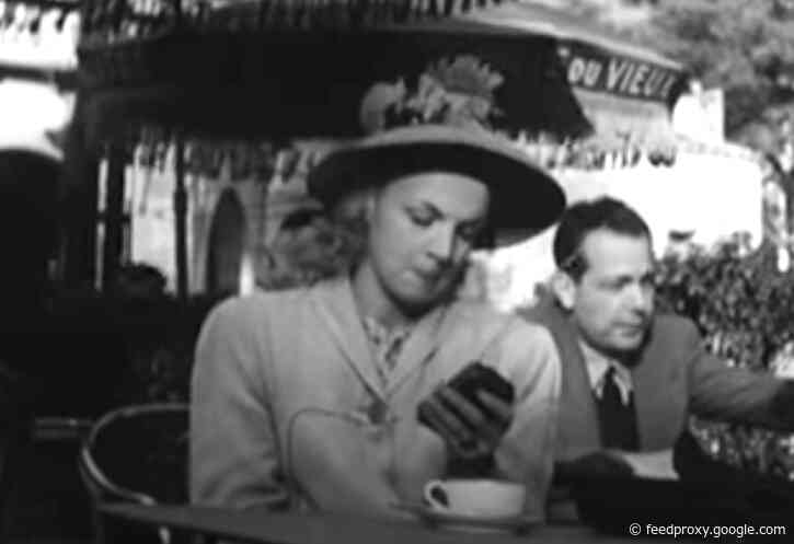 A 1947 French Film Accurately Predicted Our 21st-Century Addiction to Smartphones