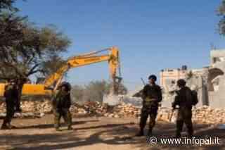 Coloni israeliani rubano l'acqua e razziano le terre di proprietà palestinese vicino a Nablus - Infopal