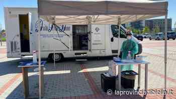 Incredibile furto, rubano il gazebo del camper del Fondo Edo Tempia posizionato davanti all'ospedale - La Provincia di Biella