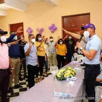 Movimiento de jóvenes en Las Matas de Farfán se juramenta con Gonzalo Castillo - El Nuevo Diario (República Dominicana)