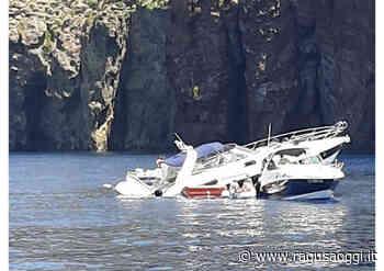 Yacht va a sbattere contro gli scogli a Lipari e affonda: salvi gli 8 turisti a bordo - RagusaOggi