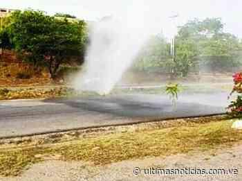 Se averió tubería de agua potable en la Charallave-Ocumare - Últimas Noticias