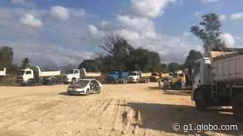 Polícia encontra areal clandestino em área de milícia em Seropédica, RJ - G1
