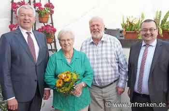 Diamantene Hochzeit im Hause Margareta und Joachim Klehr in Hallstadt - inFranken.de
