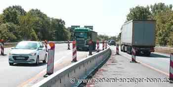 Straßenbau bei Sinzig: Brückenarbeiten auf der B9 dauern noch ein Jahr - General-Anzeiger Bonn