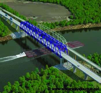 Bid Approved For New Cumberland River Bridge - The Waterways Journal - The Waterways Journal
