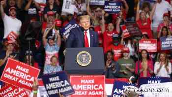 Trump is 'clearly flirting with disaster' by holding rallies and not wearing a mask, health expert warns