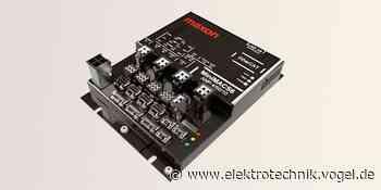 Motion-Control-Steuerung mit integrierten Hochleistungsverstärkern