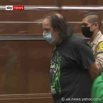 Ron Jeremy appears in court [Video] - Yahoo News UK