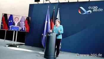 """Merkels EU-Optimismus - """"Kriegen wir hin, nicht wahr, Ursula"""" - BILD"""