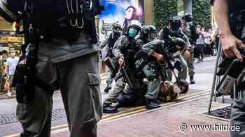 China knüppelt Hongkong-Proteste nieder - HIER stirbt die Demokratie - BILD