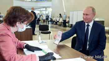 Russland: Putin kann bis 2036 an der Macht bleiben - BILD