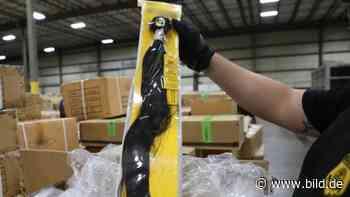 Aus Zwangsarbeit in China: USA beschlagnahmen Menschenhaar-Produkte - BILD