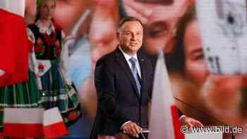 Polen: Präsident Duda verpasst bei Wahl absolute Mehrheit! - BILD