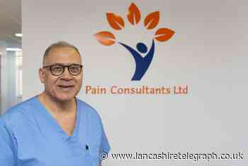 E Lancs NHS pain consultant opens private clinic