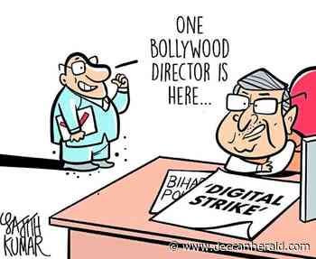 DH Toon: Digital strike or the perfect Bollywood flick? - Deccan Herald