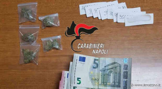 Lo spacciatore con i bigliettini da visita arrestato a Casoria - Il Mattino