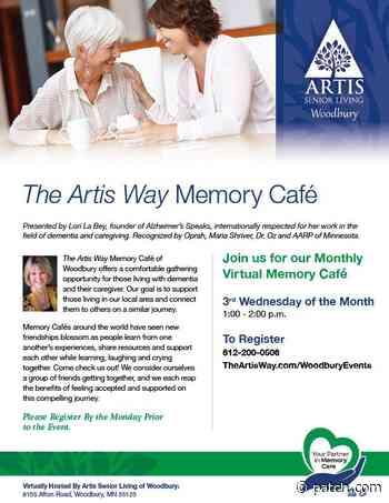 Jul 15   The Artis Way Memory Cafe   Saint Paul, MN Patch - Patch.com