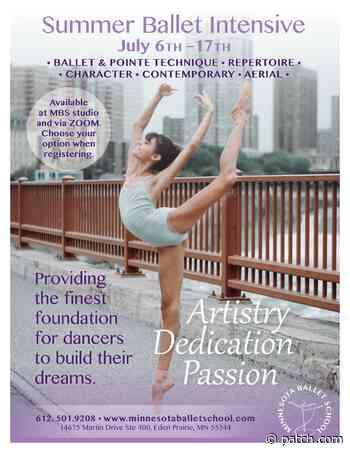 Jul 6   Summer Intensive Ballet Camp   Saint Paul, MN Patch - Patch.com