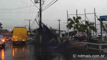 Guaramirim decreta situação de emergência após passagem de ciclone - ND - Notícias