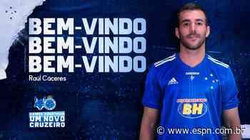 Cruzeiro anuncia contratação do paraguaio Raúl Caceres, ex-Vasco - ESPN.com.br