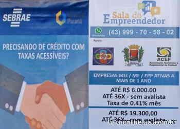 Sala do Empreendedor de Faxinal contabilizou mais de 1,5 milhão - TNOnline - TNOnline