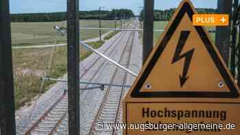 Die Bahnstrecke Geltendorf-Lindau steht schon unter Hochspannung - Augsburger Allgemeine